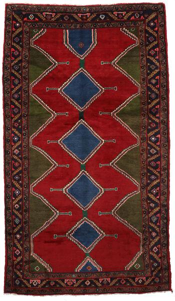 Koliai Matto 150X265 Itämainen Käsinsolmittu Tummanpunainen/Musta/Punainen (Villa, Persia/Iran)