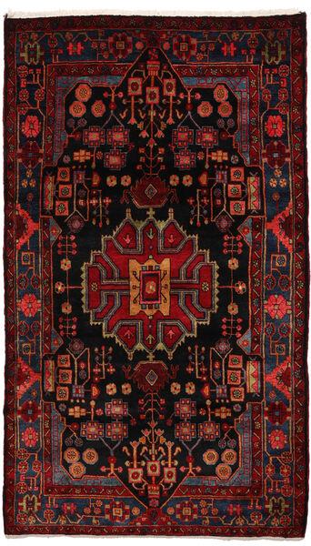 Nahavand Matto 155X270 Itämainen Käsinsolmittu Tummanpunainen (Villa, Persia/Iran)
