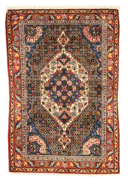 Bakhtiar Collectible Matto 100X151 Itämainen Käsinsolmittu Tummanruskea/Tummanpunainen (Villa, Persia/Iran)