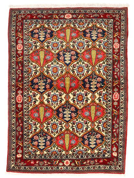 Bakhtiar Collectible Matto 106X147 Itämainen Käsinsolmittu Tummanruskea/Tummanpunainen (Villa, Persia/Iran)
