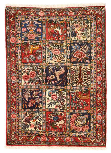 Bakhtiar Collectible Matto 110X154 Itämainen Käsinsolmittu Tummanruskea/Tummanpunainen (Villa, Persia/Iran)