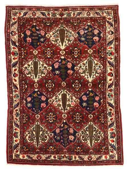 Bakhtiar Collectible Matto 106X149 Itämainen Käsinsolmittu Tummanpunainen/Musta (Villa, Persia/Iran)