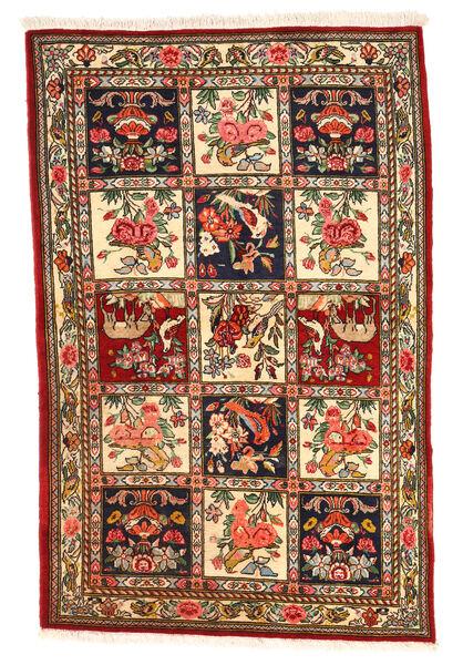 Bakhtiar Collectible Matto 106X164 Itämainen Käsinsolmittu Tummanruskea/Tummanpunainen (Villa, Persia/Iran)