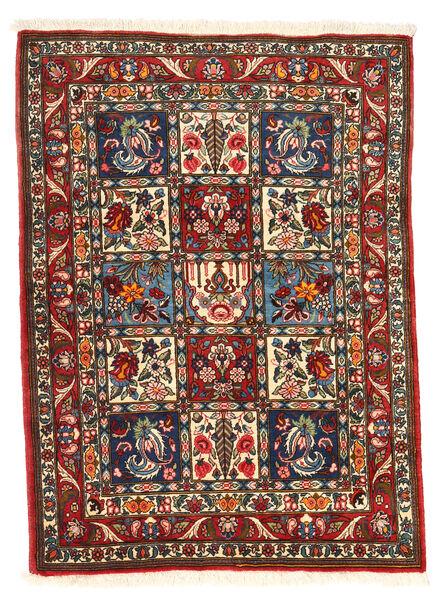 Bakhtiar Collectible Matto 105X140 Itämainen Käsinsolmittu Tummanruskea/Beige (Villa, Persia/Iran)