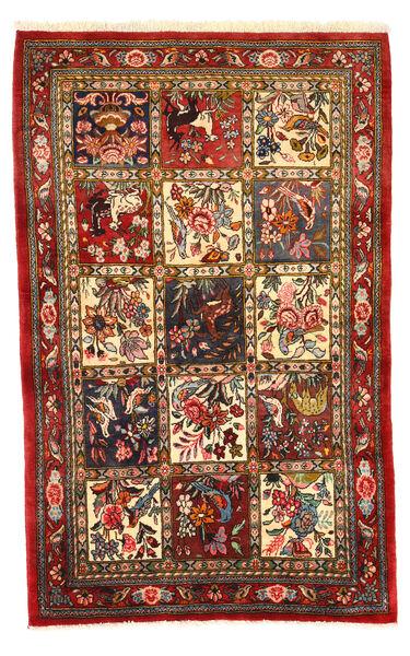 Bakhtiar Collectible Matto 108X171 Itämainen Käsinsolmittu Tummanpunainen/Tummanruskea (Villa, Persia/Iran)