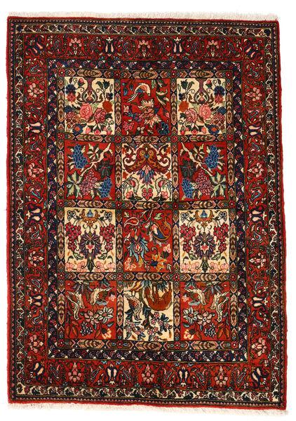 Bakhtiar Collectible Matto 106X150 Itämainen Käsinsolmittu Tummanruskea/Tummanpunainen (Villa, Persia/Iran)