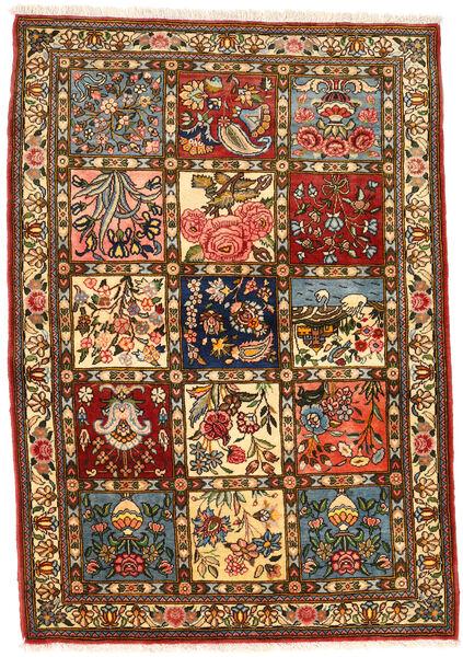 Bakhtiar Collectible Matto 111X158 Itämainen Käsinsolmittu Tummanruskea/Ruskea (Villa, Persia/Iran)