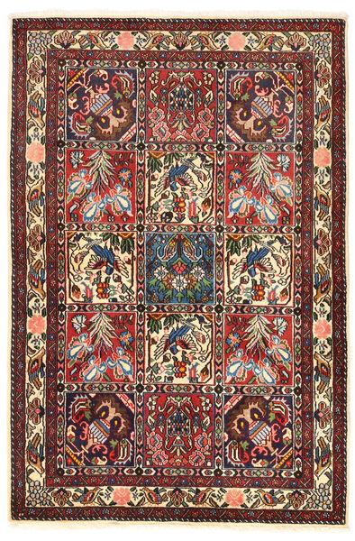 Bakhtiar Collectible Matto 106X158 Itämainen Käsinsolmittu Tummanruskea/Tummanpunainen (Villa, Persia/Iran)