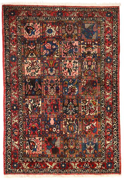 Bakhtiar Collectible Matto 101X151 Itämainen Käsinsolmittu Tummanruskea/Tummanpunainen (Villa, Persia/Iran)