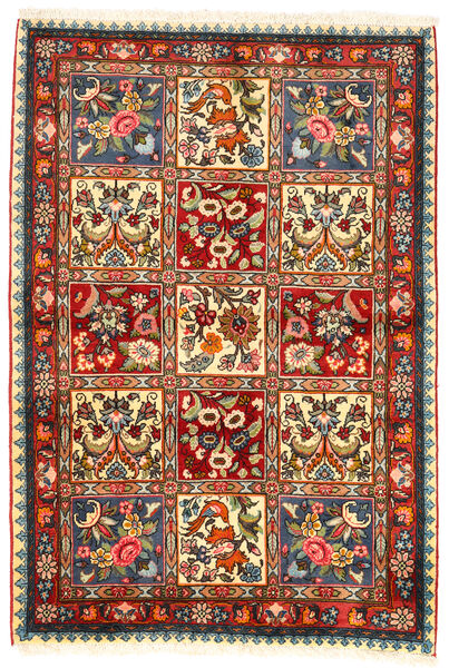 Bakhtiar Collectible Matto 107X155 Itämainen Käsinsolmittu Tummanruskea/Beige (Villa, Persia/Iran)