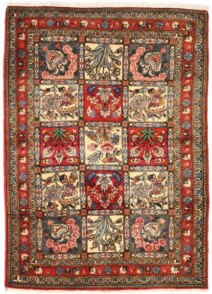Bakhtiar Collectible Matto 105X148 Itämainen Käsinsolmittu Tummanharmaa/Ruskea (Villa, Persia/Iran)