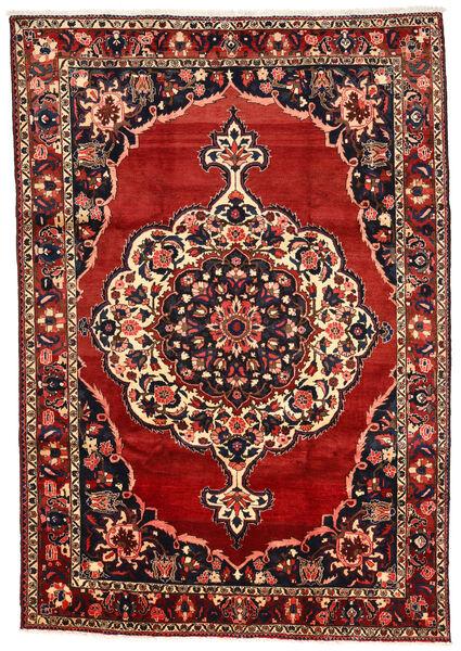 Bakhtiar Collectible Matto 211X302 Itämainen Käsinsolmittu Tummanpunainen/Musta (Villa, Persia/Iran)