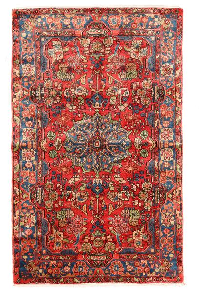 Nahavand Old Matto 150X240 Itämainen Käsinsolmittu Tummanpunainen/Ruoste (Villa, Persia/Iran)
