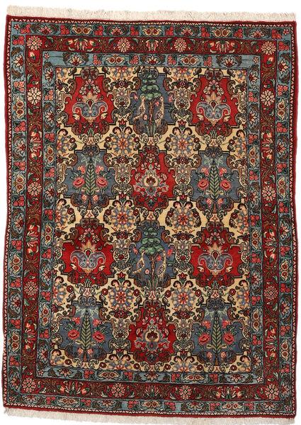 Bakhtiar Collectible Matto 108X148 Itämainen Käsinsolmittu Tummanruskea/Tummanharmaa (Villa, Persia/Iran)