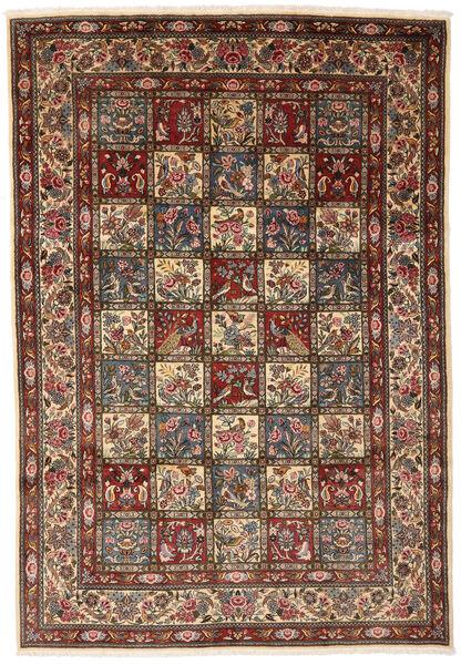 Bakhtiar Collectible Matto 216X310 Itämainen Käsinsolmittu Vaaleanruskea/Tummanruskea (Villa, Persia/Iran)
