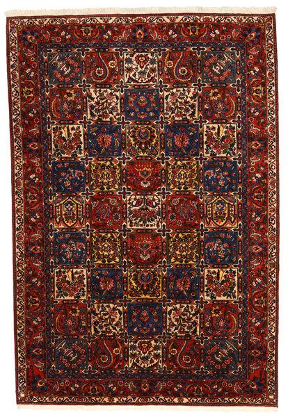 Bakhtiar Collectible Matto 210X310 Itämainen Käsinsolmittu Tummanpunainen/Musta (Villa, Persia/Iran)