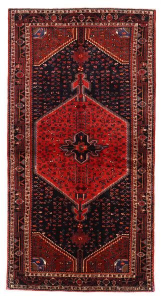 Toiserkan Matto 137X265 Itämainen Käsinsolmittu Tummanpunainen/Ruoste (Villa, Persia/Iran)