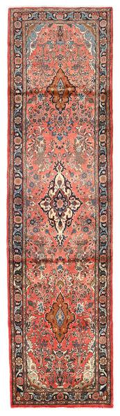 Mehraban Matto 77X297 Itämainen Käsinsolmittu Käytävämatto Tummanpunainen/Vaaleanruskea (Villa, Persia/Iran)