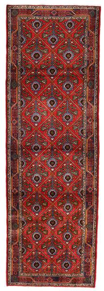 Koliai Matto 90X275 Itämainen Käsinsolmittu Käytävämatto Tummanpunainen/Tummanruskea (Villa, Persia/Iran)