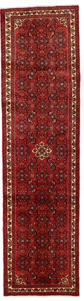 Hosseinabad Matto 74X280 Itämainen Käsinsolmittu Käytävämatto Tummanpunainen/Ruoste (Villa, Persia/Iran)