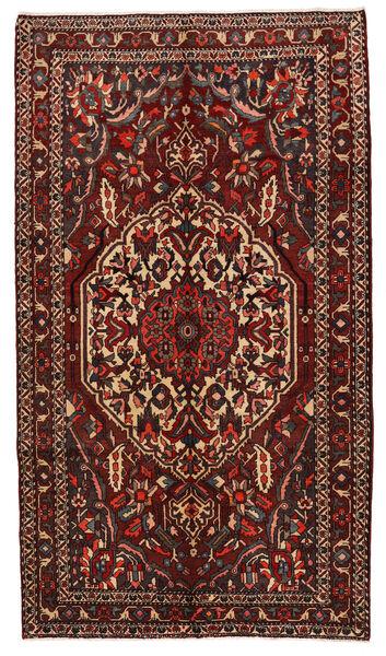 Bakhtiar Matto 167X294 Itämainen Käsinsolmittu Käytävämatto Tummanpunainen/Tummanruskea (Villa, Persia/Iran)