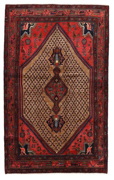 Koliai Matto 131X208 Itämainen Käsinsolmittu Tummanpunainen/Tummanruskea (Villa, Persia/Iran)
