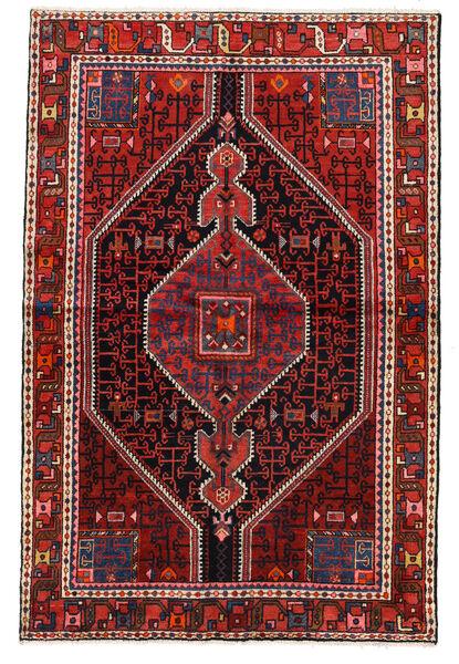 Toiserkan Matto 131X200 Itämainen Käsinsolmittu Tummanpunainen/Tummanruskea (Villa, Persia/Iran)
