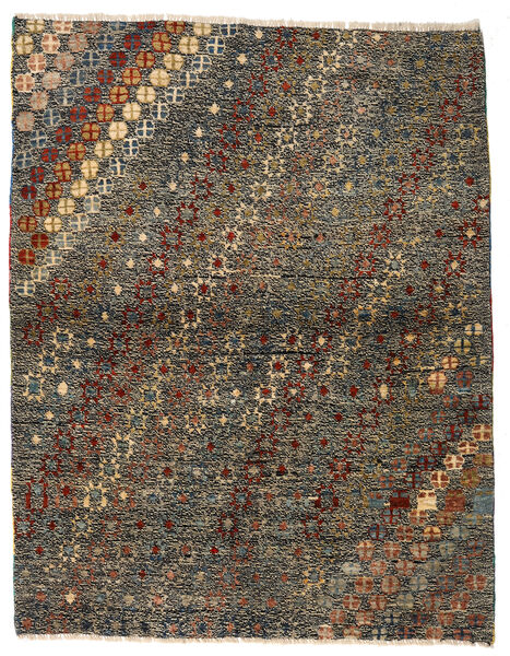 Moroccan Berber - Afghanistan Matto 121X186 Moderni Käsinsolmittu Tummanharmaa/Ruskea (Villa, Afganistan)