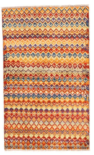 Moroccan Berber - Afghanistan Matto 84X140 Moderni Käsinsolmittu Oranssi/Tummanbeige (Villa, Afganistan)