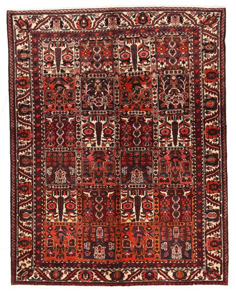 Bakhtiar Matto 162X210 Itämainen Käsinsolmittu Tummanpunainen/Tummanruskea (Villa, Persia/Iran)