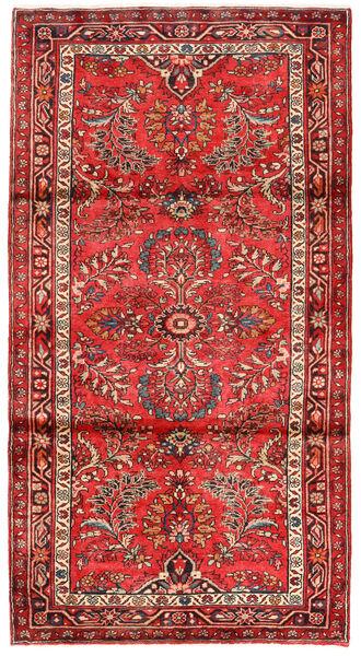 Lillian Matto 114X213 Itämainen Käsinsolmittu Tummanpunainen/Punainen (Villa, Persia/Iran)