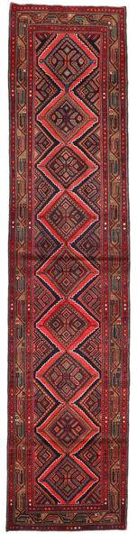 Asadabad Matto 80X353 Itämainen Käsinsolmittu Käytävämatto Tummanpunainen (Villa, Persia/Iran)