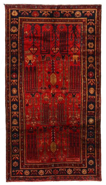 Koliai Matto 150X278 Itämainen Käsinsolmittu Tummanpunainen/Ruoste (Villa, Persia/Iran)