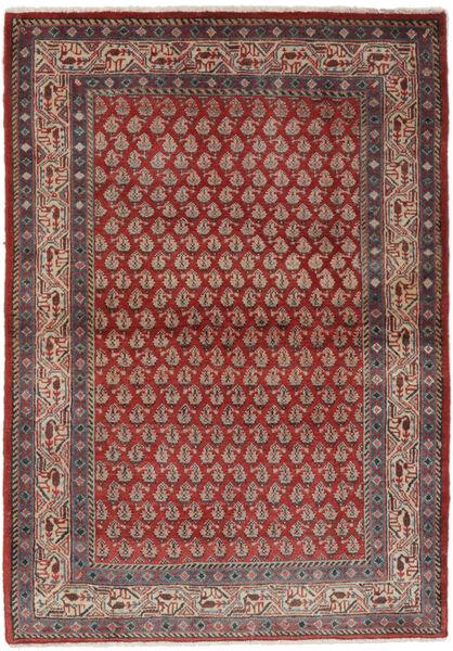 Sarough Mir Matto 106X158 Itämainen Käsinsolmittu Tummanruskea/Musta (Villa, Persia/Iran)