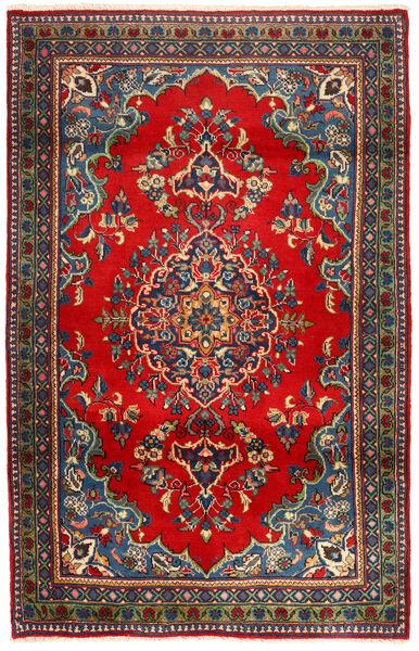 Golpayegan Matto 115X178 Itämainen Käsinsolmittu Tummanharmaa/Ruoste (Villa, Persia/Iran)