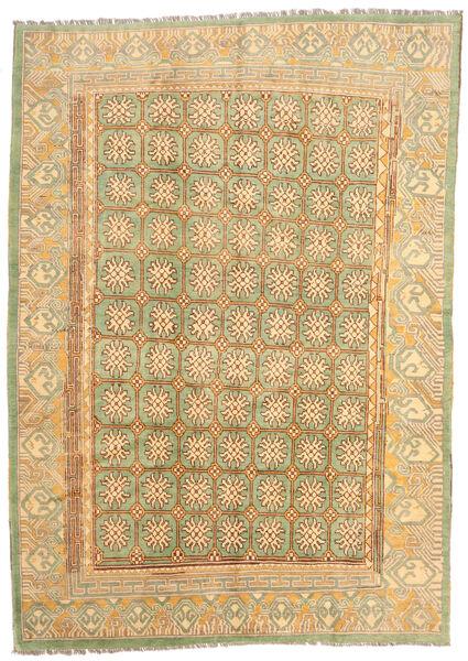 Moroccan Berber - Afghanistan Matto 206X291 Moderni Käsinsolmittu Vaaleanruskea/Tummanbeige (Villa, Afganistan)