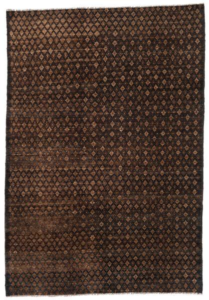 Moroccan Berber - Afghanistan Matto 197X283 Moderni Käsinsolmittu Tummanruskea/Ruskea (Villa, Afganistan)