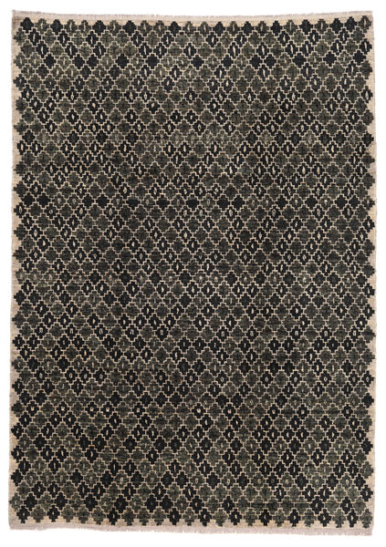 Moroccan Berber - Afghanistan Matto 202X286 Moderni Käsinsolmittu Tummanharmaa/Vaaleanharmaa (Villa, Afganistan)