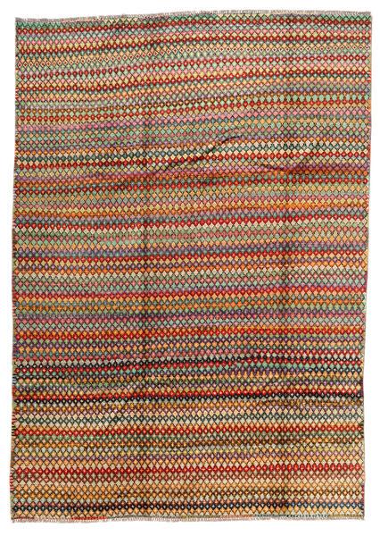Moroccan Berber - Afghanistan Matto 213X299 Moderni Käsinsolmittu Tummanharmaa/Tummanruskea (Villa, Afganistan)