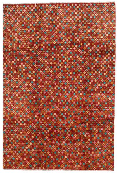 Moroccan Berber - Afghanistan Matto 192X286 Moderni Käsinsolmittu Ruoste/Punainen (Villa, Afganistan)