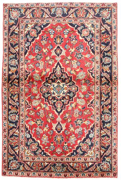 Keshan Matto 97X160 Itämainen Käsinsolmittu Musta/Beige (Villa, Persia/Iran)