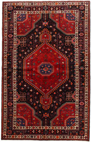 Toiserkan Matto 141X225 Itämainen Käsinsolmittu Tummanpunainen (Villa, Persia/Iran)