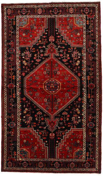 Toiserkan Matto 140X243 Itämainen Käsinsolmittu Tummanruskea/Tummanpunainen (Villa, Persia/Iran)