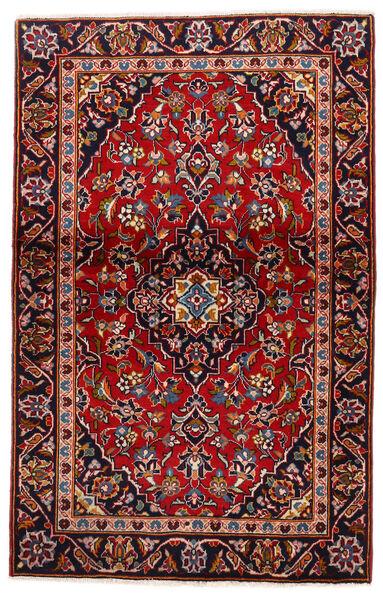 Keshan Matto 105X147 Itämainen Käsinsolmittu Tummanpunainen/Tummanvioletti (Villa, Persia/Iran)