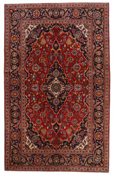 Keshan Matto 130X209 Itämainen Käsinsolmittu Tummanpunainen/Tummanruskea (Villa, Persia/Iran)