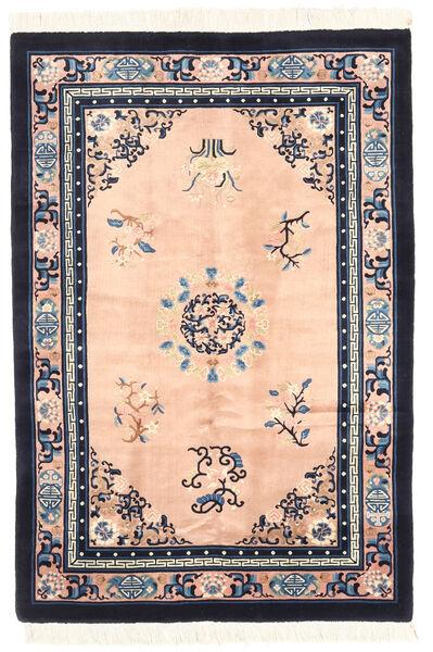 Kiina Antiikkiviimeistely Matto 122X183 Itämainen Käsinsolmittu Tummanharmaa/Vaaleanpunainen (Villa, Kiina)