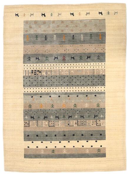 Loribaf Loom Matto 174X241 Moderni Käsinsolmittu Beige/Vaaleanharmaa (Villa, Intia)