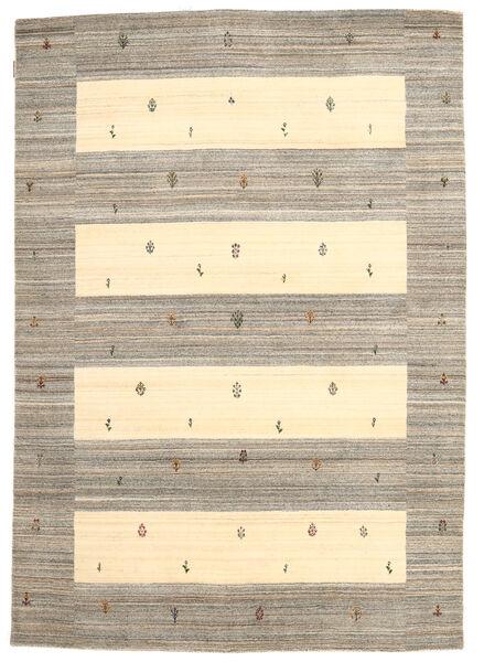 Loribaf Loom Matto 168X239 Moderni Käsinsolmittu Vaaleanharmaa/Keltainen (Villa, Intia)