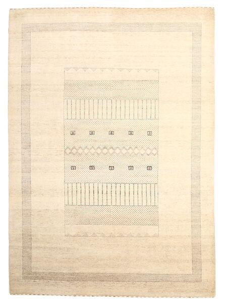 Gabbeh Loribaft Matto 199X279 Moderni Käsinsolmittu Beige (Villa, Intia)