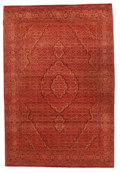 Gabbeh Loribaft Matto 125X183 Moderni Käsinsolmittu Ruoste (Villa, Intia)